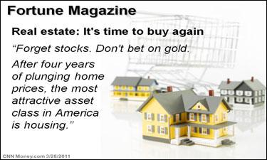 Fortune Magazine on Real Estate