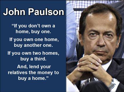 John Paulson Says Buy Real Estate Now