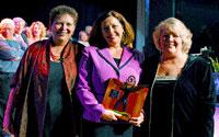 Brenda Receives 2005 Award