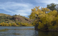 Pena Blanca Lake near Tucson