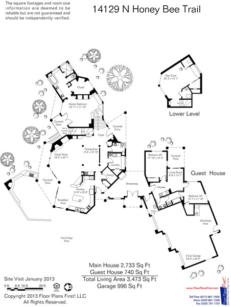 Honeybee Canyon 3473 Floor Plan