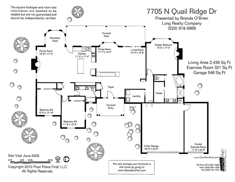 7705 N Quail Ridge Dr Floor Plan