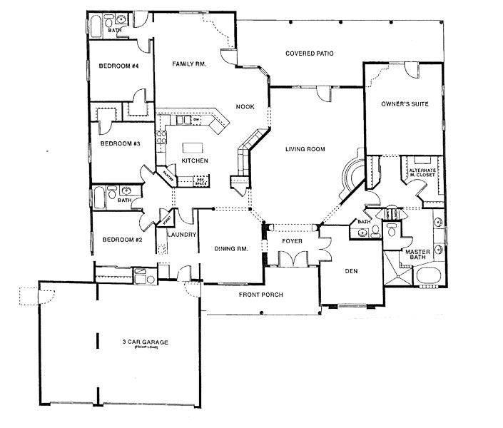 Chaparral Heights Mariposa Floor Plan
