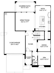 Cove at Center Point Vistoso  Page Floor Plan