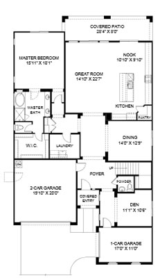 Cove at Center Point Vistoso  Winslow Floor Plan