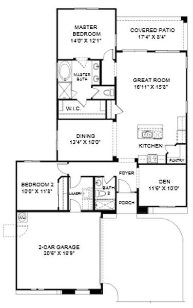 Desert Crest Cochise Floor Plan