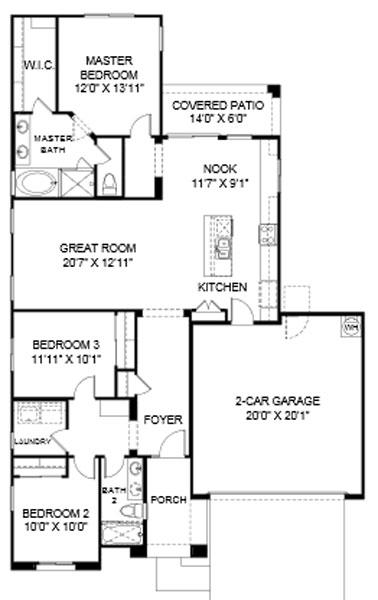 Desert Crest Coconino Floor Plan