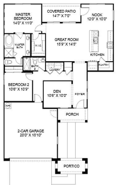 Desert Crest graham Floor Plan