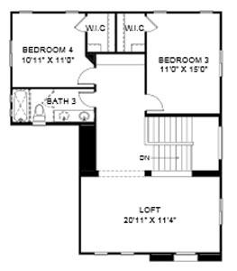Desert Crest Greenlee Floor Plan
