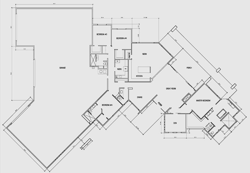 Estates at Tortolita Preserve 3950 Floor Plan