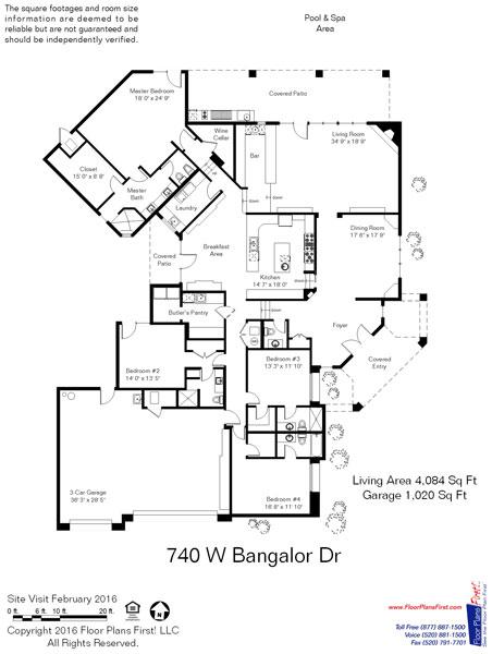 Oro Valley Estates 4084 Floor Plan