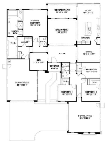 Pinnacle at Center Point Vistoso  Camelback Floor Plan