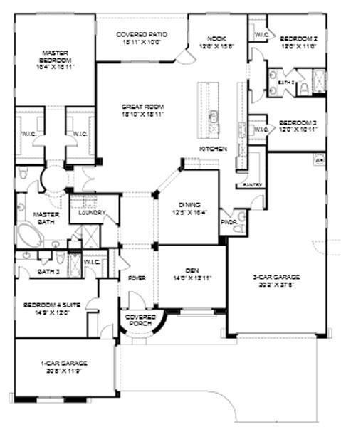 Pinnacle at Center Point Vistoso  Pinnacle Floor Plan