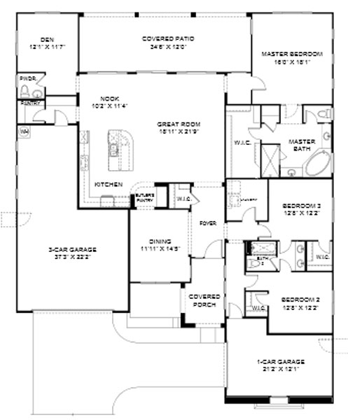 Pinnacle at Center Point Vistoso  Superstition Floor Plan