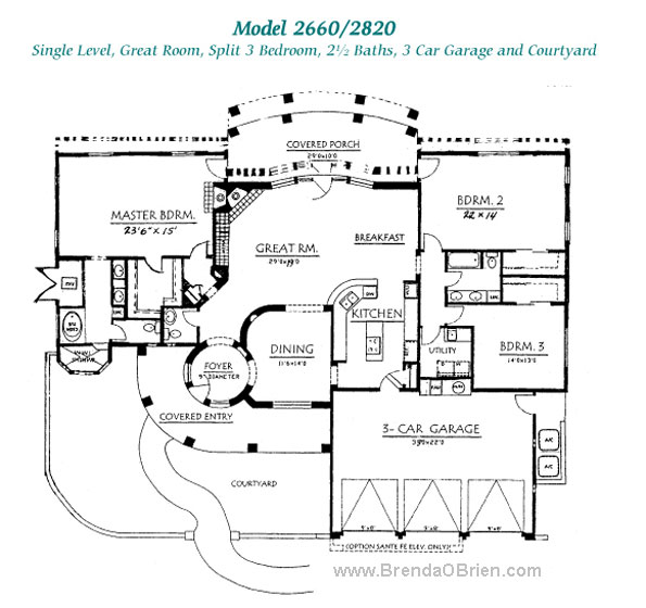 Pusch Ridge Vistas II Model 2820 Plan