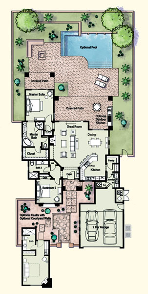 Residences At The Ritz Carlton Tucson Floor Plan Kino Model