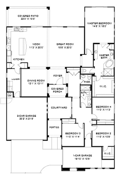 Summit at Center Point Vistoso  Sage Floor Plan