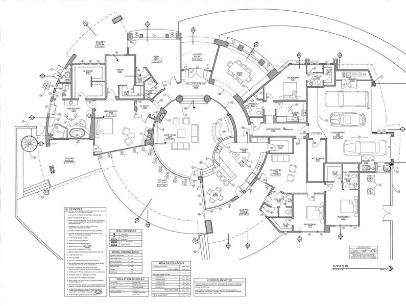 Desert Splendor Custom Floor Plan