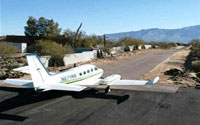 Tucson Private Airstrip Homes
