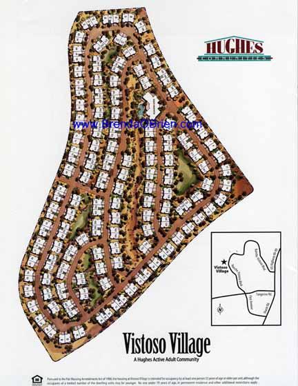 Vistoso Village Plat Map
